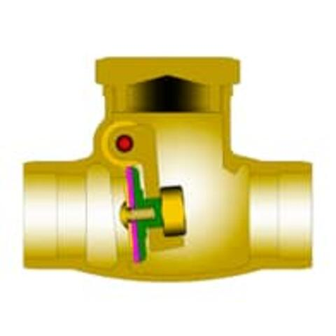 Bronze Cryogenic Check Valves